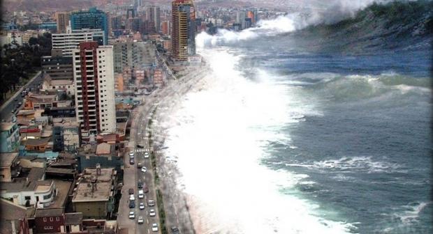 التسونامي تهدد تونس