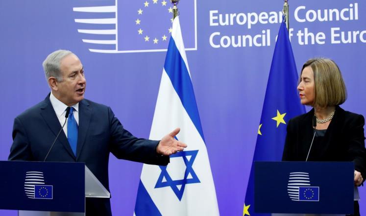 الاتحاد الأوروبي يبلغ نتنياهو رفضه