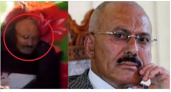 عاجل فيديو لمقتل علي عبد الله صالح