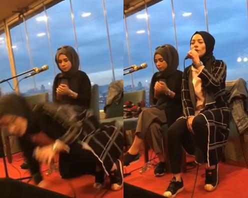 لحظة وفاة فتاة تركية أثناء غنائها