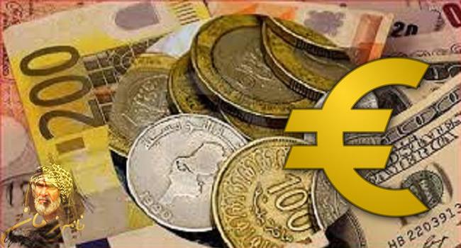 اسعار العملة بالدينار التونسي