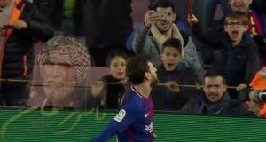 اهداف مباراة برشلونة وديبورتيفو ألافيس 2 1 | شاشة كاملة ـ ميسي المنقد بهدف عالمي