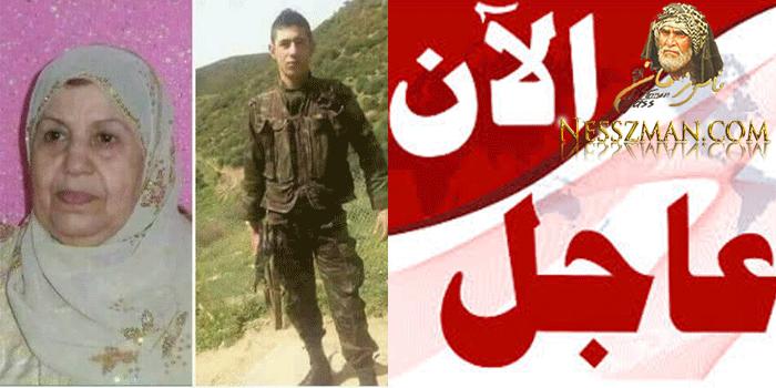 مؤثر:وفاة ام الشهيد الجندي الجزائري !!