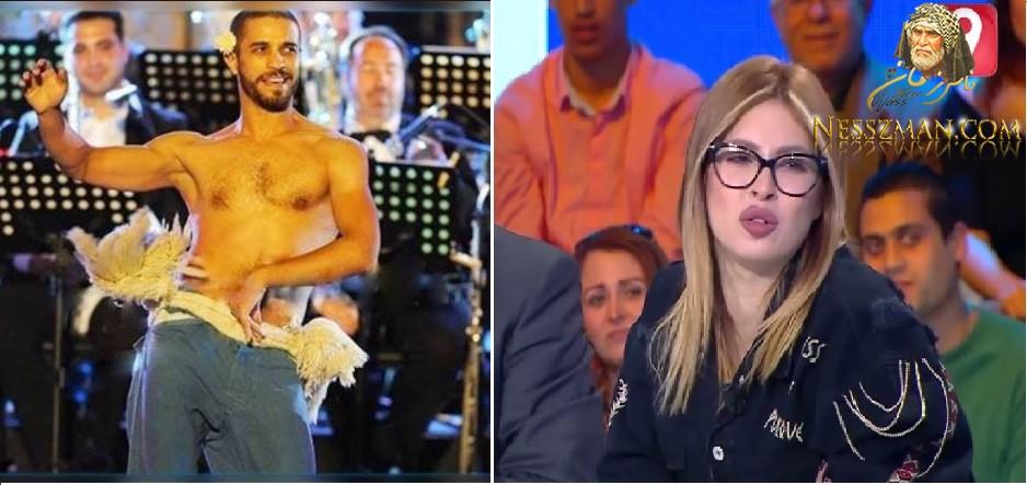 بالفيديو مريم الدباغ تهين الرقاص رشدي بلقاسمي: رقصك موش متاع رجال