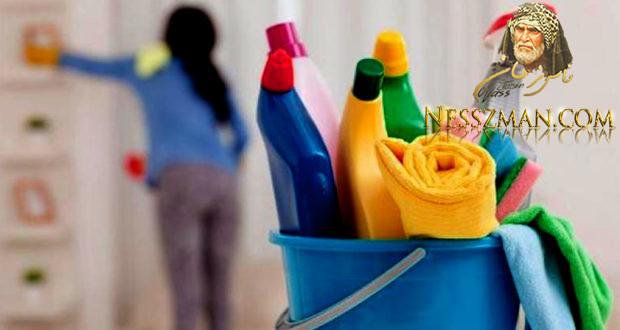 صادم تنظيف النساء للبيت مضر بالصحة مثل تدخين 20 سيجارة يومياً !
