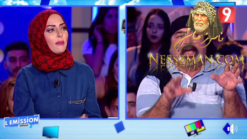 خلاف حاد بين القصاص و ايناس بن علي