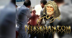 عاجل مسن يذبح نفسه أمام مقر وزارة الشؤون الاجتماعية