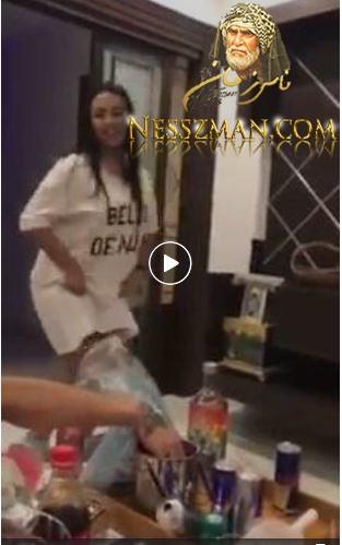فيديو رقص وجلسة خمرية للفنانة أساور