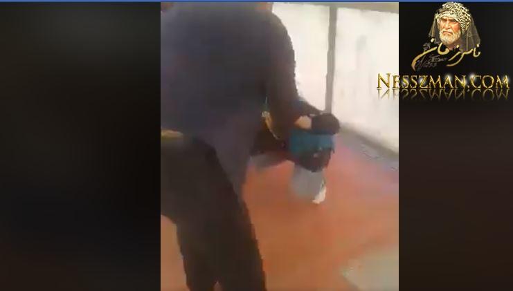 الدندان صباح اليوم موظف بشركة النقل يعتدي بالعنف علي إمرأة