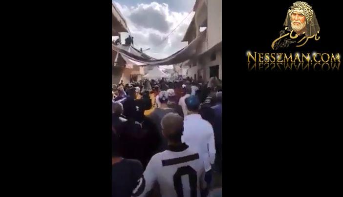 فيديو الآن وصول جثمان أيمن لمنزله في حي 20 مارس