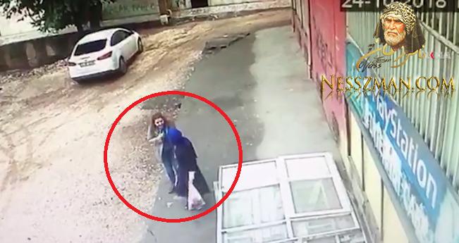 فيديو الارض تنشق و تبتلع طبيبة وممرضة