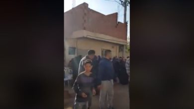 فيديو من أمام دار أيمن اللذي توفي أمس قتل بالرصاص من طرف الديوانة