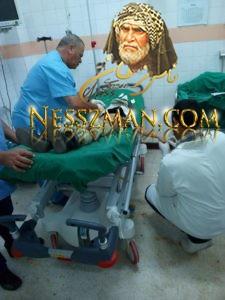 صور: لبنت من المصابين في عملية الدهس بالمستشفى